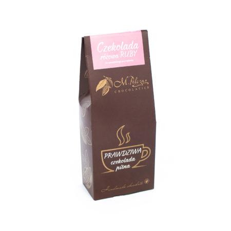 Prawdziwa czekolada pitna różowa - RUBY 200g