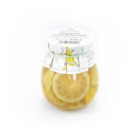 Cytrynki w syropie z imbirem i miodem 270g