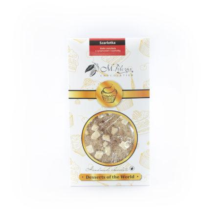 Szarlotka - biała czekolada z cynamonem i szarlotką 50g