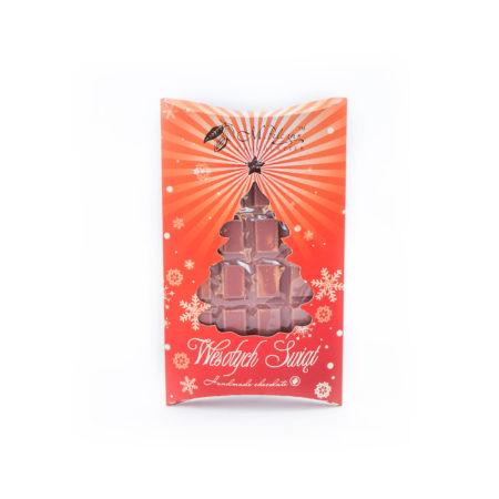 Świąteczna czekolada różowa RUBY 85g