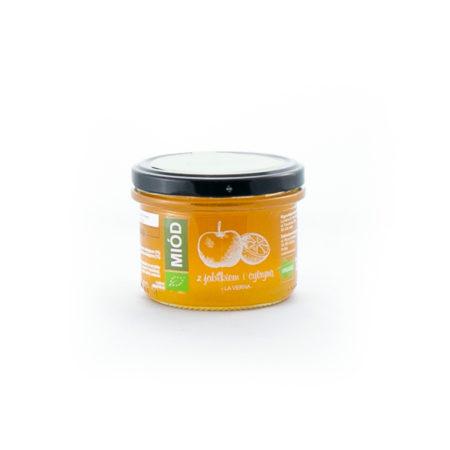 Miód ekologiczny z jabłkiem i cytryną 260g