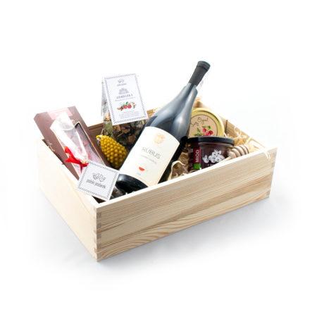 Zestaw prezentowy - Wino i żurawina