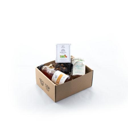 Zestaw upominkowy - Agrestowe pudełko