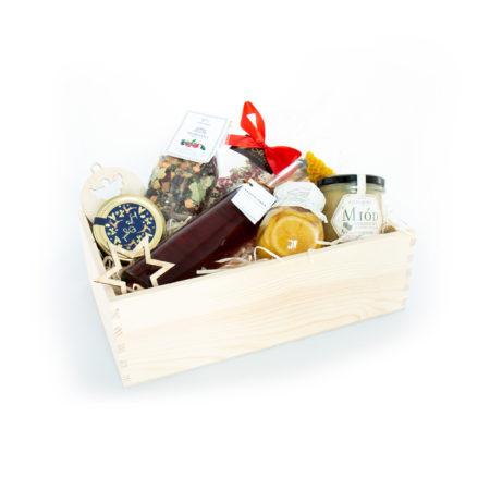 Świąteczny prezent - tradycyjne smakołyki (z przepalanką)